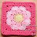 MaKenzie's Blossom 6 Inch Granny Square pattern