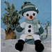Snowman Draft Stopper and Shelf Sitter pattern