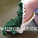 Crocheted Alligator Socks pattern