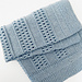 Ridges & Lace Baby Blanket pattern