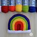 Crafty Rainbow Pillow pattern
