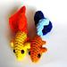 Guppy Tropical Fish Amigurumi/Plush Toy pattern