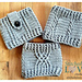 Three Cabled Boot Cuffs pattern