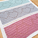 Linked Hearts Blanket pattern