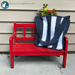 Navy Stripes Bag pattern