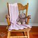 Rapid Ripple Baby Blanket pattern
