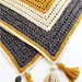 Gold and Marble Blanket pattern