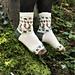 Little Acorn socks pattern