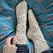 Winter in Narnia socks pattern
