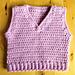 Baby Vest pattern