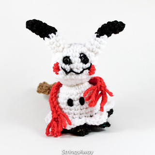 How To Make A Mimikyu Amigurumi Crochet - ミミッキュ あみぐるみ ... | 320x320