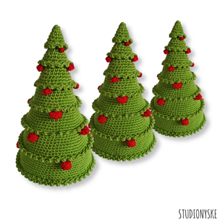 Christmas Tree Balls.Christmas Tree With Balls Pattern By Studionyske