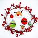 Christmas baubles II pattern
