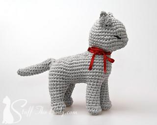 Crochet cat free pattern amigurumi | Amiguroom Toys | 254x320