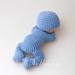 Sleeping Baby Amigurumi pattern
