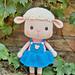 Harika the sheep pattern