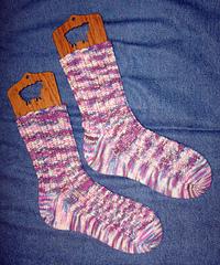 Cherry Rib Socks Complete