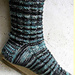 Glacier Lake Toe Up Socks pattern