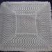 Royal lace baby shawl 2015 pattern