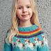 Unicorn Icelandic Sweater | Einhyrningur Lopapeysa pattern