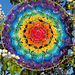 Rainbow Chakra Mandala pattern