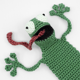 Amigurumi Frog Bookmark crochet pattern by Supergurumi | Crochet ... | 320x320