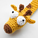 Giraffe Bookmark pattern