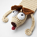 Dog Bookmark pattern