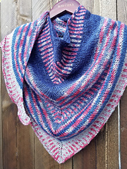Chisholm:  a shawl in eight sections
