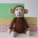 Hæklet abe/monkey pattern