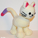 Kitten with Bendable Tail & Big Paws pattern