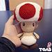Toad Super Mario Bros pattern