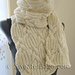 #159 Ultimate Chunky Cables and Ribs Scarf pattern