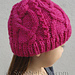 #160 Meandering Cables One-Ball Hat pattern