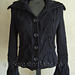 #109 Lace Inset Shaped Cardigan or Vest pattern