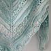 #221 Crystal Cove Shawlette pattern