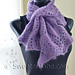 #34 Wavy Edged Crochet Scarf pattern