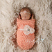 Just Peachy Baby Cocoon pattern