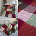 Patchwork Sampler Baby Blanket pattern