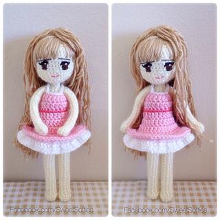 Amigurumi Crochet Anime Doll Tutorial Pattern Petite by Sylemn ... | 320x320
