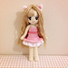 Cat Girl Doll Base (Anime Female Human Figure) pattern