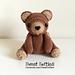 Brennan the Teddy Bear Amigurumi pattern