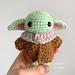 Baby Yoda Inspired Amigurumi Doll pattern