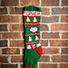 Santa Christmas Stocking pattern