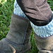 Kid's Cabled Boot Cuffs pattern
