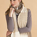 Davos Multidirectional Rib Scarf pattern