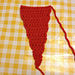 Crocheted Bunting Flags pattern