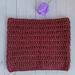 Garnet Cowl pattern