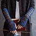 Hogwarts Dueling Club Fingerless Mitts pattern