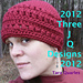 X's & O's (kisses and hugs) beanie pattern